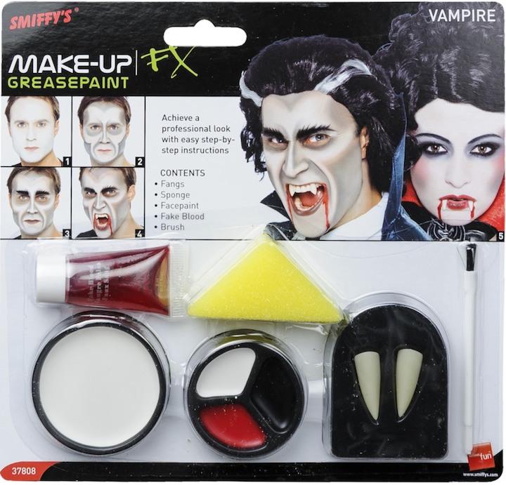 Schmink Set für Halloween Vampire & Dracula