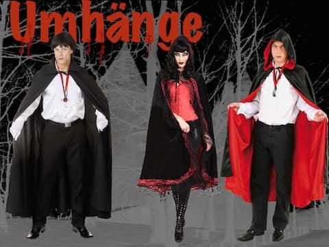 Umhänge für Halloween, Vampire
