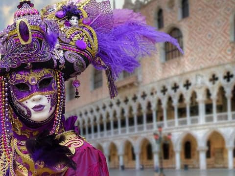 Motto Karneval in Venedig