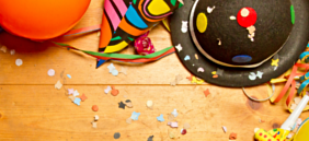 Zubehör Karneval, Fasching Slide